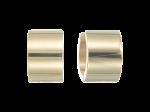 ZEG-05-G - By Q Basic oorbellen huggies edelstaal