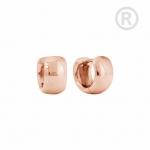 ZEG-12-R - By Q Basic oorbellen huggies edelstaal