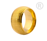 ZRG-01-G - By Q Exclusive Ring Stardust