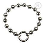 QK-S2-E - Dikke bolletjes armband edelstaal QK-S2-E