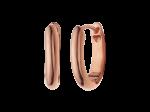 ZZ-QO-007-R - Oorbellen Quoins creolen rosé