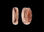 ZZ-QO-009-R - Oorbellen Quoins creolen rosé