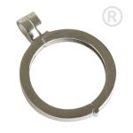 QHO-07-E - Pendant stainless steel for disks of Quoins QHO-07-E