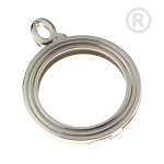 QHO-15-E - Pendant stainless steel for disks of Quoins QHO-15-E