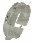 ZK-SP-F-CC-18/19 - Q armband van facet geslepen edelsteen