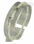 ZK-SP-F-MP-18/19 - Q armband van facet geslepen edelsteen
