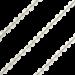 ZK-SP-F-CC-90 - Q collier van facet geslepen edelsteen