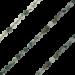 ZK-SP-F-MA-90 - Q collier van facet geslepen edelsteen