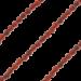 ZK-SP-F-RA-90 - Q collier van facet geslepen edelsteen