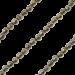 ZK-SP-F-PY-90 - Q collier van facet geslepen edelsteen