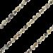 ZK-SP-F-DJ-90 - Q collier van facet geslepen edelsteen