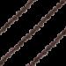 ZK-SP-S-SQ-90 - Q collier van geslepen edelsteen