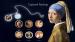 QMOC-04L - Quoins Captured Paintings Murano Leonardi Da Vinci Mona Lisa QMOC-04