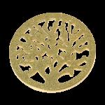 QMOV-04L-G - Quoins Diamond Dust - Tree of Life
