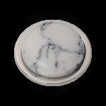 QMEE-M-WH - Quoins Emotions Semi-Precious stone White Howlite QMEE-WH