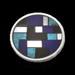 QMOE-02-BL - Quoins Illusion Mondriaan in a Ring QMOE-02-BL