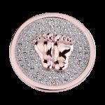 QMOA-32L-R - Quoins Jewelz Baby Steps Pink Gold