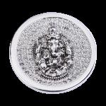 QMOA-30L-Z - Quoins Jewelz Jewelz Ganesha rhodinated