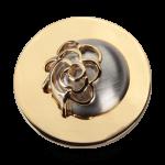 QMOA-21L-G - Quoins Jewelz Perfect Eclipse gold plated QMOA-21-G