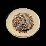 QMOA-24M-G - Quoins Jewelz Shiny Marble gold plated QMOA-24-G