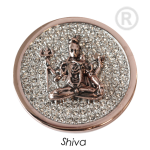 QMOA-31L-R - Quoins Jewelz Shiva rhodinated Pink Gold