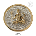 QMOA-31L-G - Quoins Jewelz Shiva rhodinated Yellow Gold