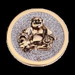 QMOA-28L-G - Quoins Jewelz - Maitreya Buddha
