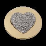 QMOA-11L-G - Quoins Jewelz - Sparkling Heart