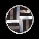 QQMON-08 - Quoins Mondriaans Choice - Onyx met Parelmoer