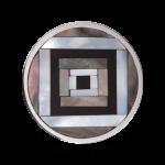 QQMON-09M - Quoins Mondriaans Choice - Onyx met Parelmoer