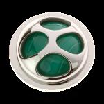 QMEJ-L-GR - Quoins Pandora's Box - Dyed Agate