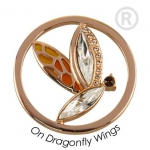 QMOK-18L-R-RS - Quoins Swarovski Elements Free as a Butterfly