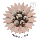 QMEW-01L-R - Quoins clicks Perfect Dahlia Pink Gold