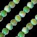QK-J-GR - Quoins collier van regenboog Jade groen