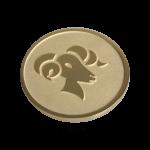 QMOZ-53M-G - Quoins disks: 2D Coins
