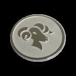 QMOZ-53M-E - Quoins disks: 2D Coins