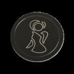 QMOZ-58M-D - Quoins disks: 2D Coins