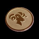 QMOZ-53M-R - Quoins disks: 2D Coins