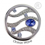 QMOK-13L-E-BL - Quoins disks: Swarovski Elements