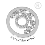 QMOK-33M-E-CC - Quoins disks: Swarovski Elements