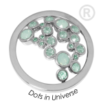 QMOK-34L-E-GR - Quoins disks: Swarovski Elements