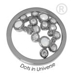 QMOK-34L-E-WH - Quoins disks: Swarovski Elements