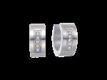 ZES-06-E - Quoins earrings of stainless steel