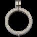 QHO-09-E - Quoins munthanger klikmodel - steentjes