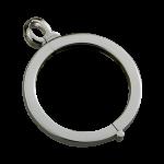 QHO-17-E - munt hanger edelstaal QHO-17-E